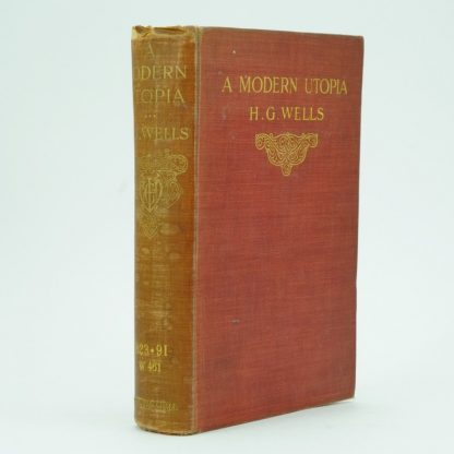 A Modern Utopia First Edition by H. G. Wells