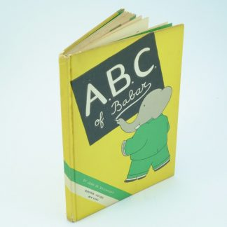 ABD of Babar First Edition Jean De Brunhoff