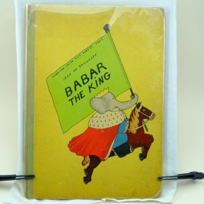 Babar-The-King-first-edition-jean-de-brunhoff