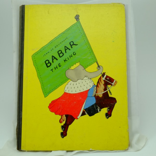 Babar-the-King-Jean-De-Brunhoff-first edition