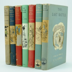 The Chronicles of Narnia Collection First Edition by C. S. Lewis