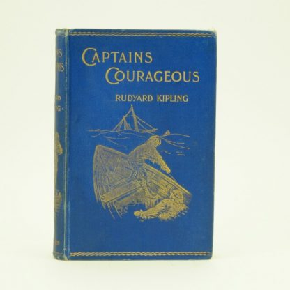 Captains Courageous Rudyard Kipling first edition