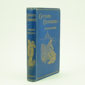 First Edition Captain Courageous by Rudyard Kipling