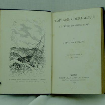 Captains-Courageous-Rudyard-Kipling-first-edition