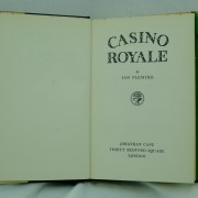 Casino-Royale-Ian-Fleming-first-edition