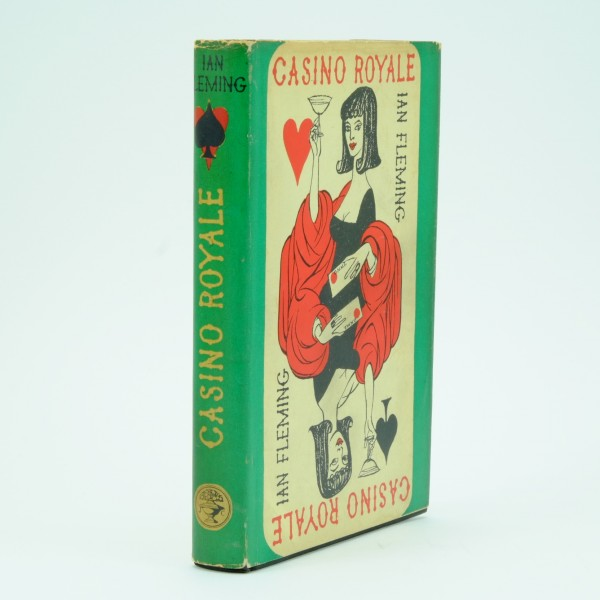 Casino Royale First Edition by Ian Fleming with dust jacket