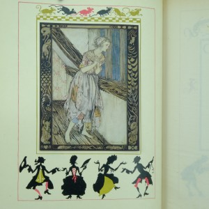 Cinderella-illustrated-by-Arthur-Rackham-first-edition
