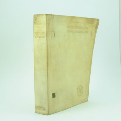 Limited First Edition of Collected Verse by Rudyard Kipling