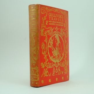 First Edition Gullivers Travels illustrated by Arthur Rackham
