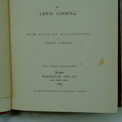 Sylvie-And-Bruno-Lewis-Carroll-First-Edition