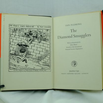 The- diamond_smugglers-Ian-Fleming-First-editon
