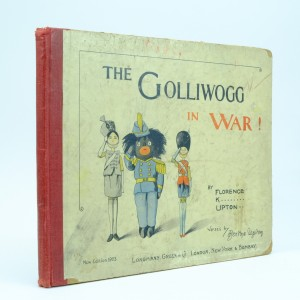 The Golliwogg in War First Edition by Florence Upton