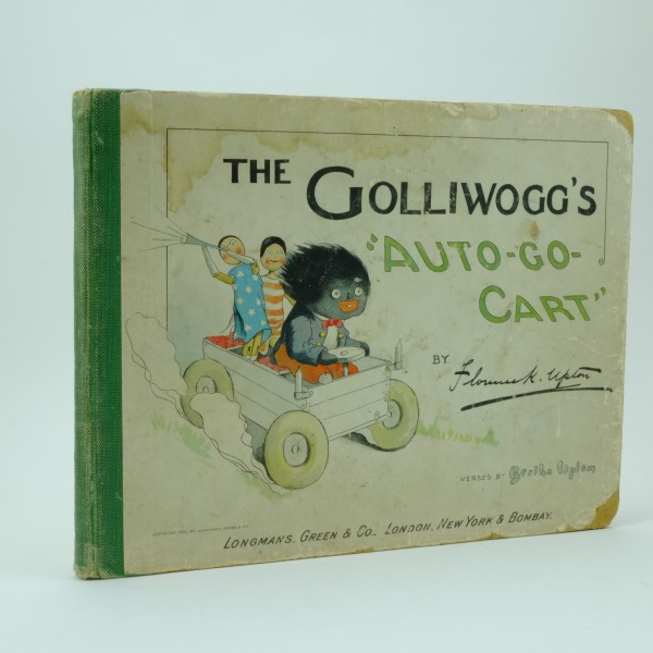 The Golliwoggs Auto Go Cart by Florence Upton