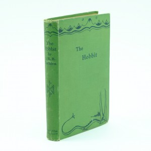 The Hobbit First Edition by J.R.R.Tolkien Fourth Impression