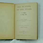 The-Hunting-of-the-Snark-Lewis-Carroll-first-edition