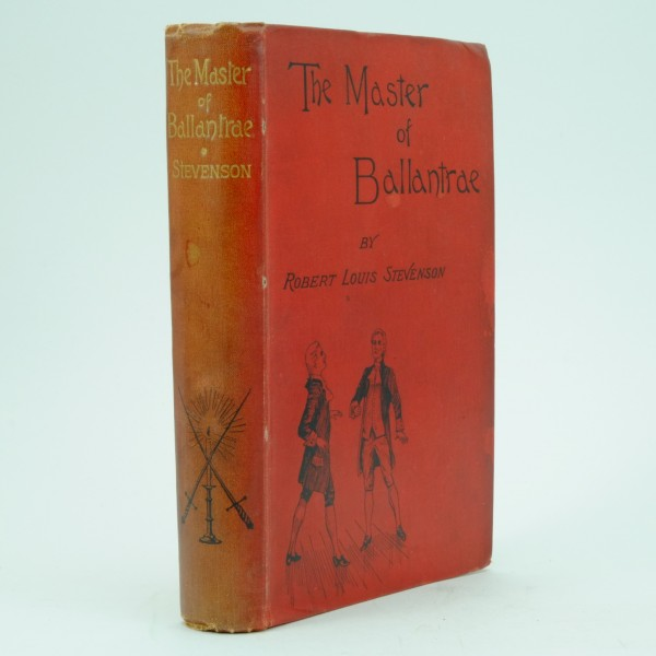 The Master of Ballantrae Robert Louis Stevenson First Edition