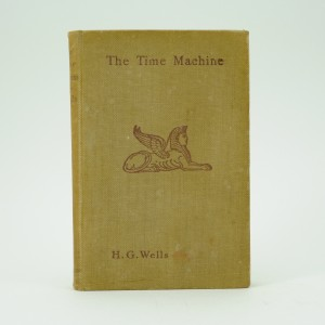 The-Time-Machine-H.G.Wells first edition
