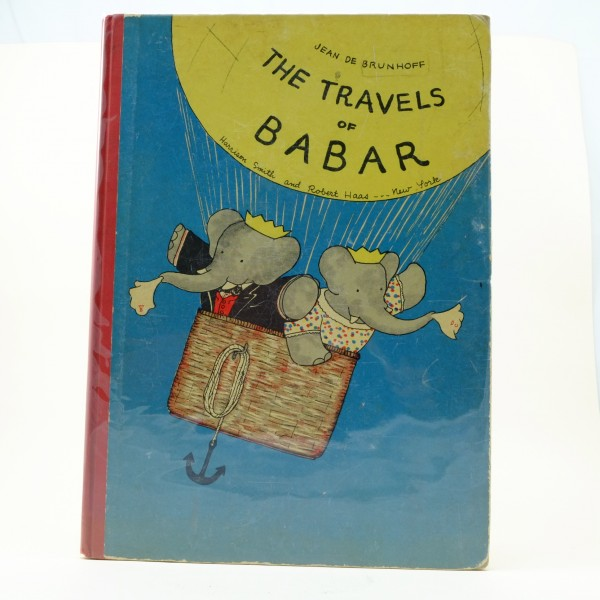 The-Travels-of-Babar-first-edition-jean-d-de-brunhoff