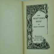 The-Watter's-Mou-by-Bram-Stoker first edition