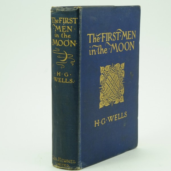 The First Men in the Moon First Edition by H. G. Wells