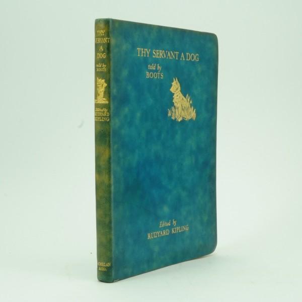 First Edition Thy Servant a Dog by Rudyard Kipling