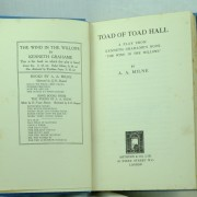 Toad of Toad Hall with dust jacket, 1st edition