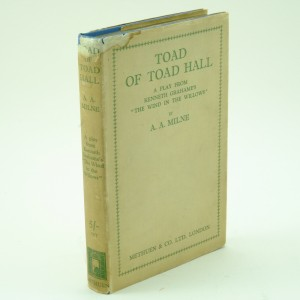 The Toad of Toad Hall by A A Milne First Edition