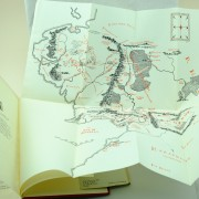 map Tolkien first edition