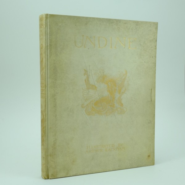 Limited and Signed Edition of Undine Illustrated by Arthur Rackham