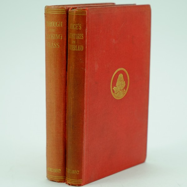 Alices Adventures in Wonderland Through the Looking Glass First Edition by Lewis Carroll