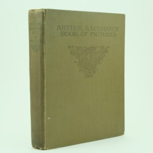 Limited and Signed Edition Book of Pictures Illustrated by Arthur Rackham