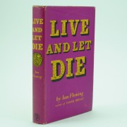 Live and Let Die First Edition Collection by Ian Fleming