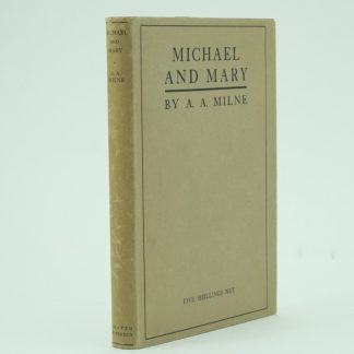 Michael and Mary A. A. Milne First Edition