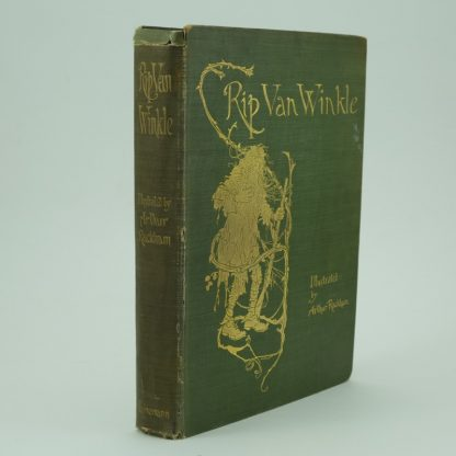 Rip Van Winkle First Edition illustrated by Arthur Rackham
