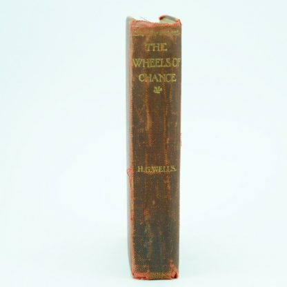 The-Wheels-of-Chance-H.G.Wells-first-edition