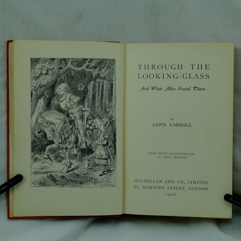 lewis carroll alices adventures in wonderland amp through