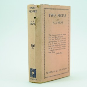 Two People First Edition A. A. Milne