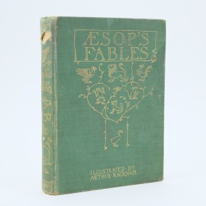 First Edition Aesops Fables Illustrated by Arthur Rackham