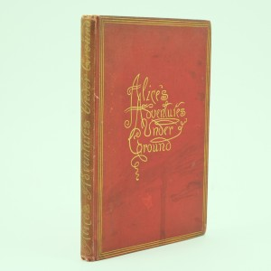 Alice's-Adventure-Underground-Lewis-Carroll-First-Edition-1886. Alice-In-Wonderland