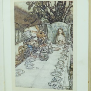 Alice's-Adventures-In-Wonderland-by-Lewis-Carroll-Illustrated-By-Arthur-Rackham-First-Edition