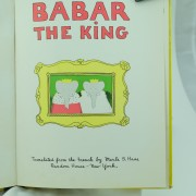 Jean de Brunhoff Babar The King first Edition 1935 U.S.A