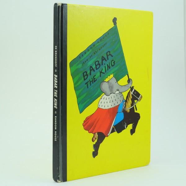 Babar-The-King-Jean-de-Brunhoff-first-Edition-1935-U.S.A