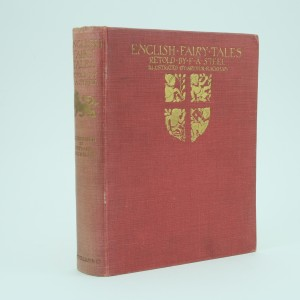 English Fairy Tales First Edition Illustrated by Arthur Rackham
