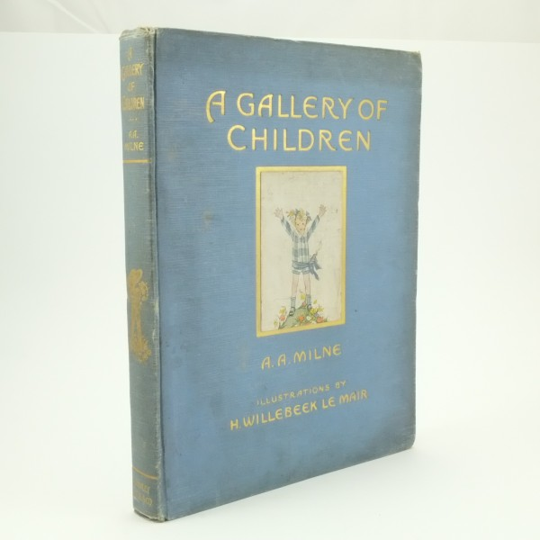 A Gallery of Children First Edition A. A. Milne