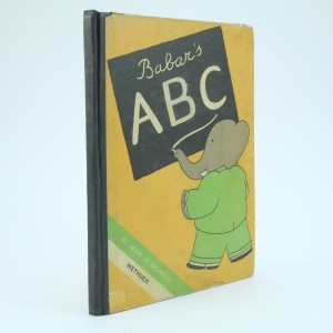 First Edition ABC Babars Jean De Brunhoff