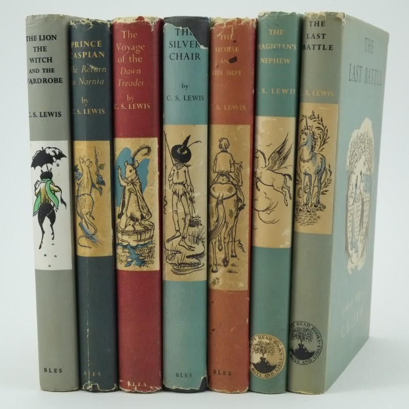 The Chronicles Of Narnia By C S Lewis First Edition