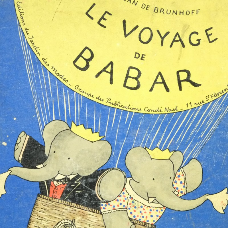 Top Who needs a reason to read Babar books? | Rare and Antique Books RU18