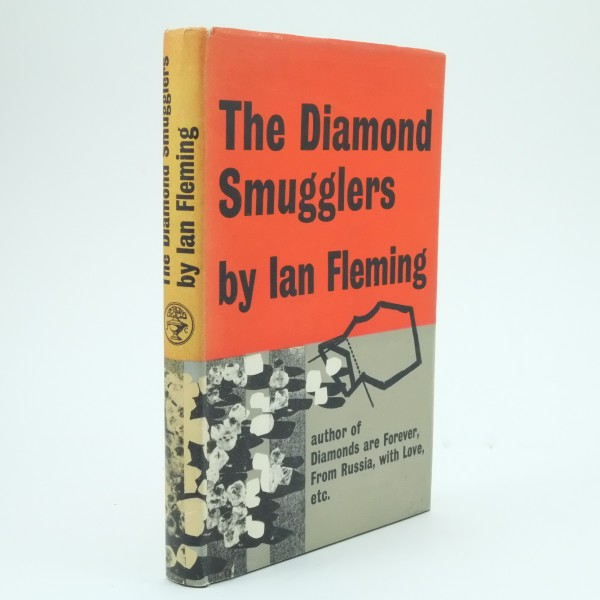 The Diamond Smugglers First Edition by Ian Fleming
