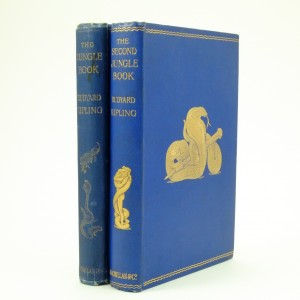 The Jungle Book and The Second Jungle Book, First Edition by Rudyard Kipling