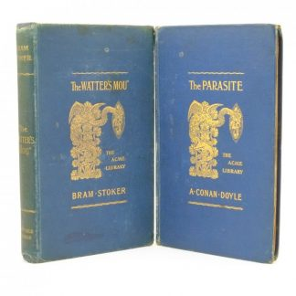 First Edition of The Parasite by A. Conan Doyle and The Watter's Mou by Bram Stoker